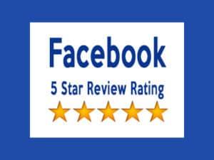 Facebook - 5 start review rating
