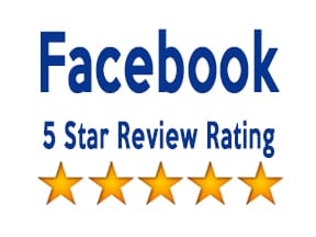 Facebook - 5 start review rating