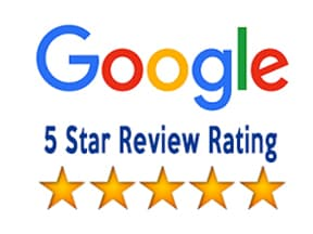 Google - 5 star review rating