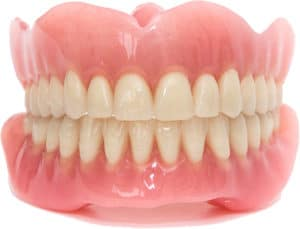 A full (or complete) denture